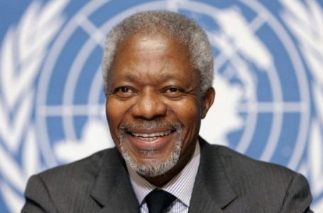 Kofi Annan's memorial was a celebration of his service to the world