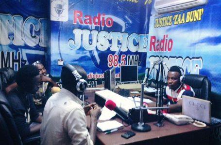 Chairman Samba donates PPE to Radio Justice