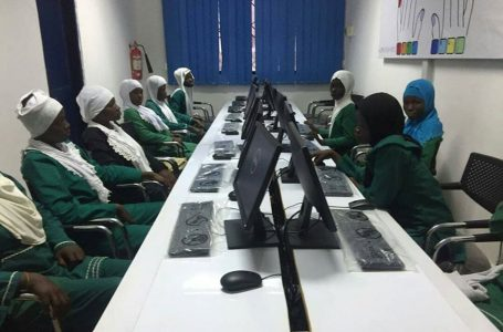 Mashud Zainab ICT sessions students of BDF