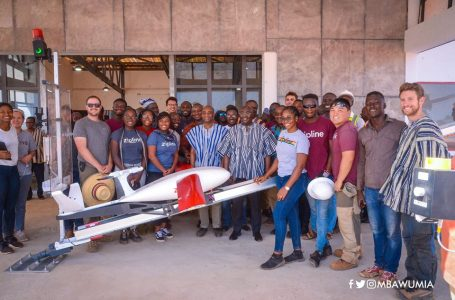Bawumia inspects 3rd Zipline medical drone center at Kukua near Walewale