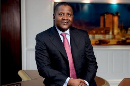 Aliko Dangote ends the decade with a net worth of almost $15 billion