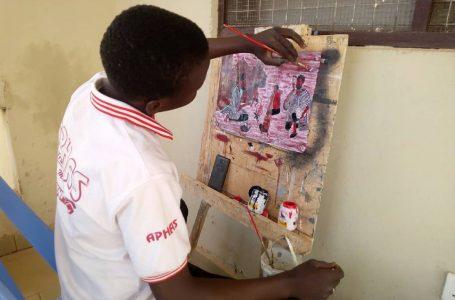 'I want to take my art to the next level Mohammed' Jamaldeen Bamba