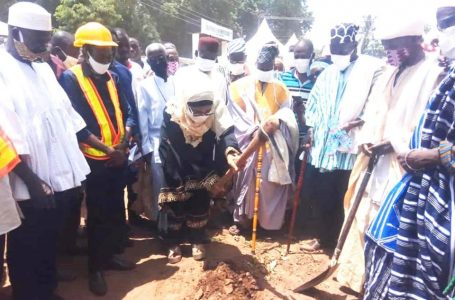 Sagnarigu MCE Cuts Sod For Road Projects