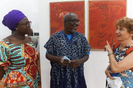 Redclay studios and SCCA celebrates  (A Retrospective of Agyeman Ossei 'Dota')