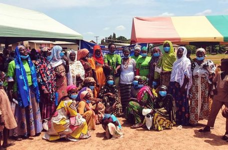 Swida Ghana marks international rural women's day in Nakpanzoo