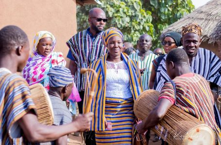 Napaga Tia Sulemana Donates Motorbikes and Sound Systems to Nanton Constituency