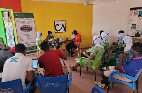 Swida-Ghana and Sanatu Zambang hold a female leadership roundtable discussion