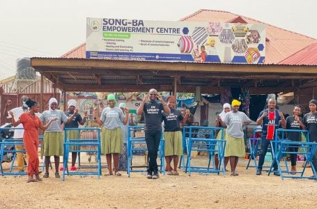 Ibrahim Mustapha IM Legacy Project knocked on the doors of  Song-Ba Empowerment Center