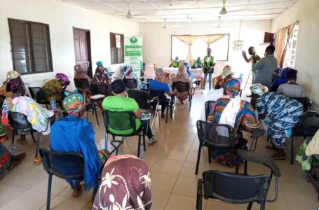 Swida Gh: TRAINING WORKSHOP ON CLIMATE RESILIENT AGRICULTURE FOR WOMEN FARMERS.