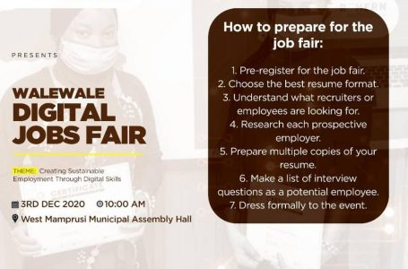Walewale Digital Jobs Fair | Creating Sustainable Employment Through Digital Skills