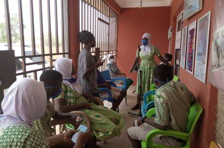#sanatuzambangcaféExperience   Student leaders share their dreams with Hajia Alima Sagito