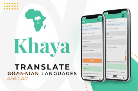Awesome! Did you know Khaya is Ghana's first Translator App?